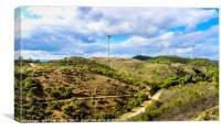 Algarve Hills - Portugal, Canvas Print