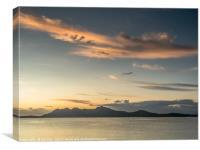 Sunrise in Port de Pollence, Canvas Print