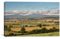 Northumberland Landscape, Canvas Print