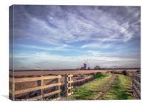 Tower Windmill, Burnham Overy Staithe, Norfolk, Canvas Print