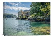 Dartmouth Castle, Canvas Print