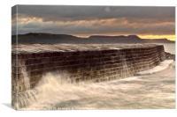 Lyme Regis - The Cobb, Canvas Print