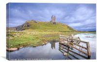 Castle Gates Dunstanburgh, Canvas Print