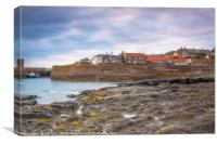 Craster Fishing Village  Northumberland, Canvas Print