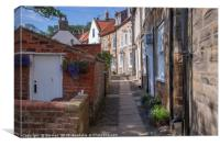 Robin Hood's Bay NorthYorkshire, Canvas Print