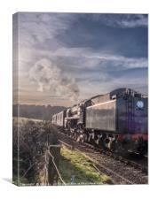 Norfolk Steam, Canvas Print