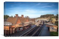 Weybourne NNR Station, Canvas Print