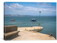 Caldy Island Harbour, Canvas Print