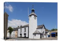 The Town Hall Laugharne , Canvas Print