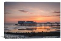 A New Day at Cromer Pier, Canvas Print