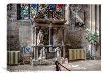 Parish Church of St John Baptist Cirencester , Canvas Print