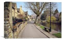 Bourton-on-the-Water , Canvas Print