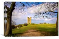 Broadway Tower The Cotswolds, Canvas Print