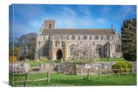 St Margaret Of Antioch's Church Cley next the Sea, Canvas Print
