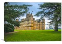 Highclere Castle (Downton Abbey), Canvas Print