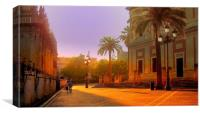 Early Morning Seville, Canvas Print