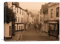 The Narrows, Totnes, Devon, Canvas Print
