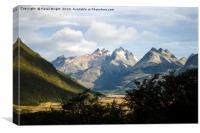 Tierra del Fuego, Argentina, Canvas Print