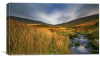 Evening in Brecon Beacons, Canvas Print