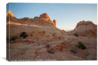South Coyote Buttes, Canvas Print