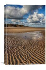 Lligwy Beach, Anglesey, Canvas Print