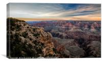 Grand Canyon (Fire on the North Rim), Canvas Print
