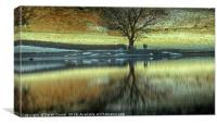 Lovers in the Lakes, Canvas Print