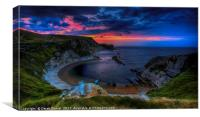 Man O'War Bay sunrise, Canvas Print