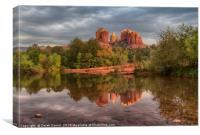 Cathedral Rock, Canvas Print