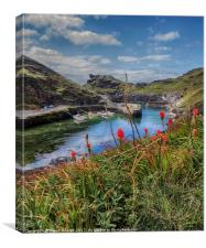 Boscastle, Cornwall, Canvas Print