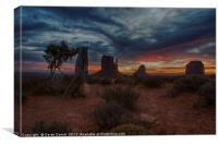 Monument Valley Sunrise, Canvas Print