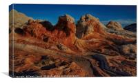 White Pocket, Arizona, Canvas Print