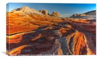 White Pocket, Arizona, Canvas Print