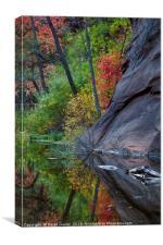 Oak Creek Canyon, Canvas Print