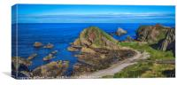 Portknockie, Scotland, Canvas Print