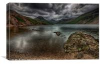 Moody Wastwater, Canvas Print