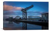 Glasgow Sunrise, Canvas Print