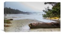 Chesterman Beach Tofino Vancouver Island, Canvas Print