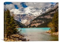 Lake Louise Banff National Park Canada, Canvas Print