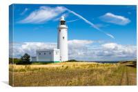 Hurst Point Lighthouse, Canvas Print