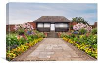 Connaught gardens, Sidmouth, Devon, Canvas Print