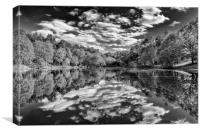 Reflections at Wyndhams, Canvas Print
