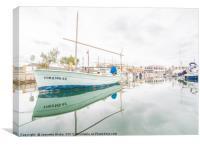 Puerto de Pollensa Marina, Canvas Print