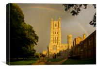 Ely Cathedral, Cambridgeshire, Canvas Print