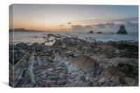 Jurassic coast #1, Canvas Print