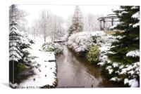 Winter wonderland, Canvas Print