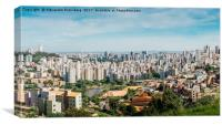 Belo Horizonte, Minas Gerais, Brazil, Canvas Print