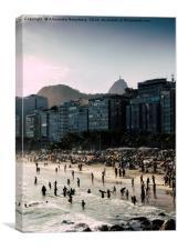 Copacabana, Rio de Janeiro, Brazil, Canvas Print