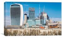 City of London, UK, Canvas Print