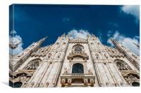 Duomo Cathedral, Milan, Italy, Canvas Print
